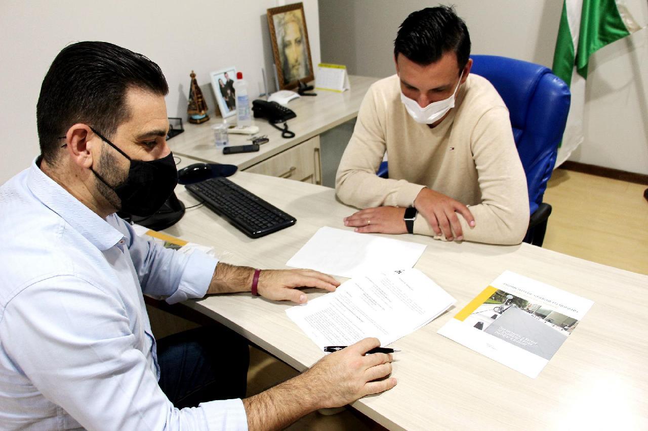 Associação de Cimento irá prestar apoio nas obras em Piên