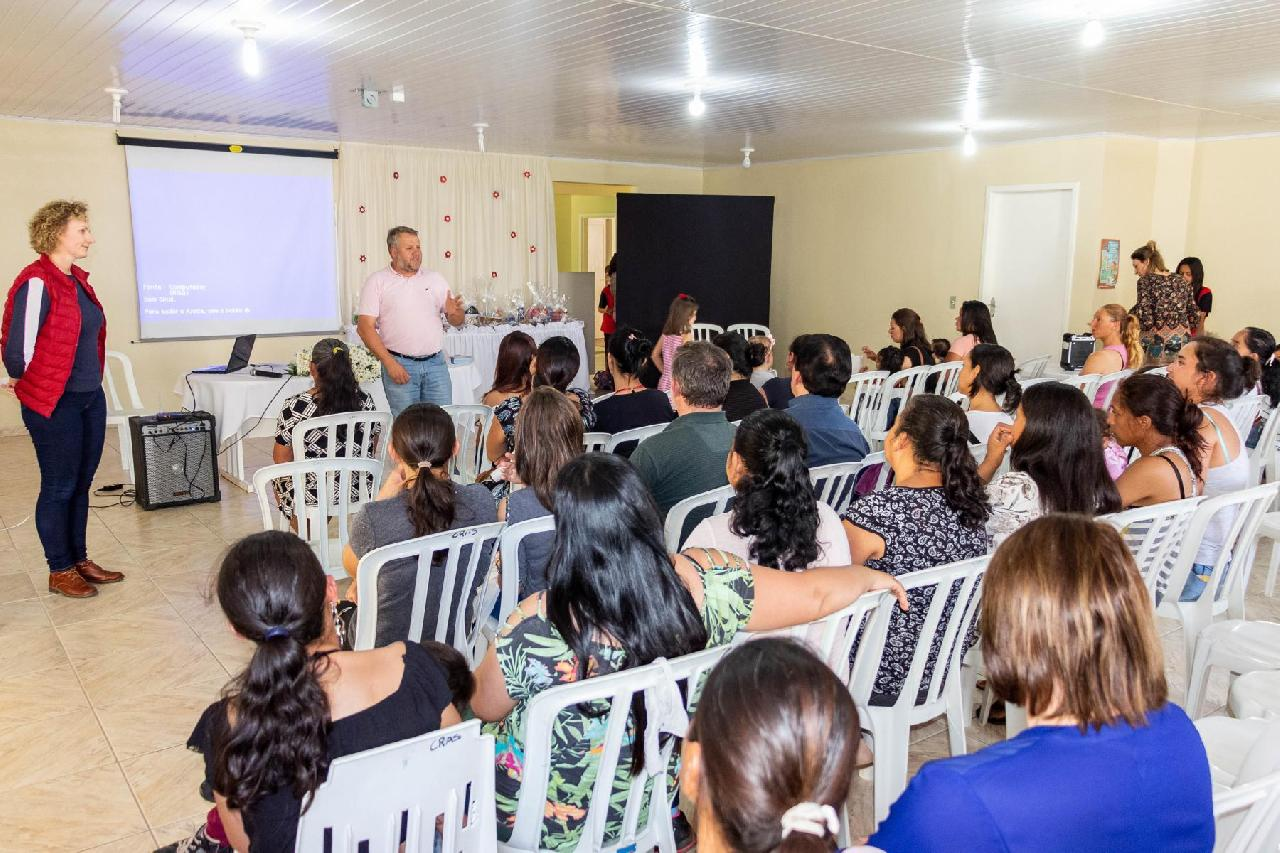 CRAS de Piên realiza encontro com beneficiários