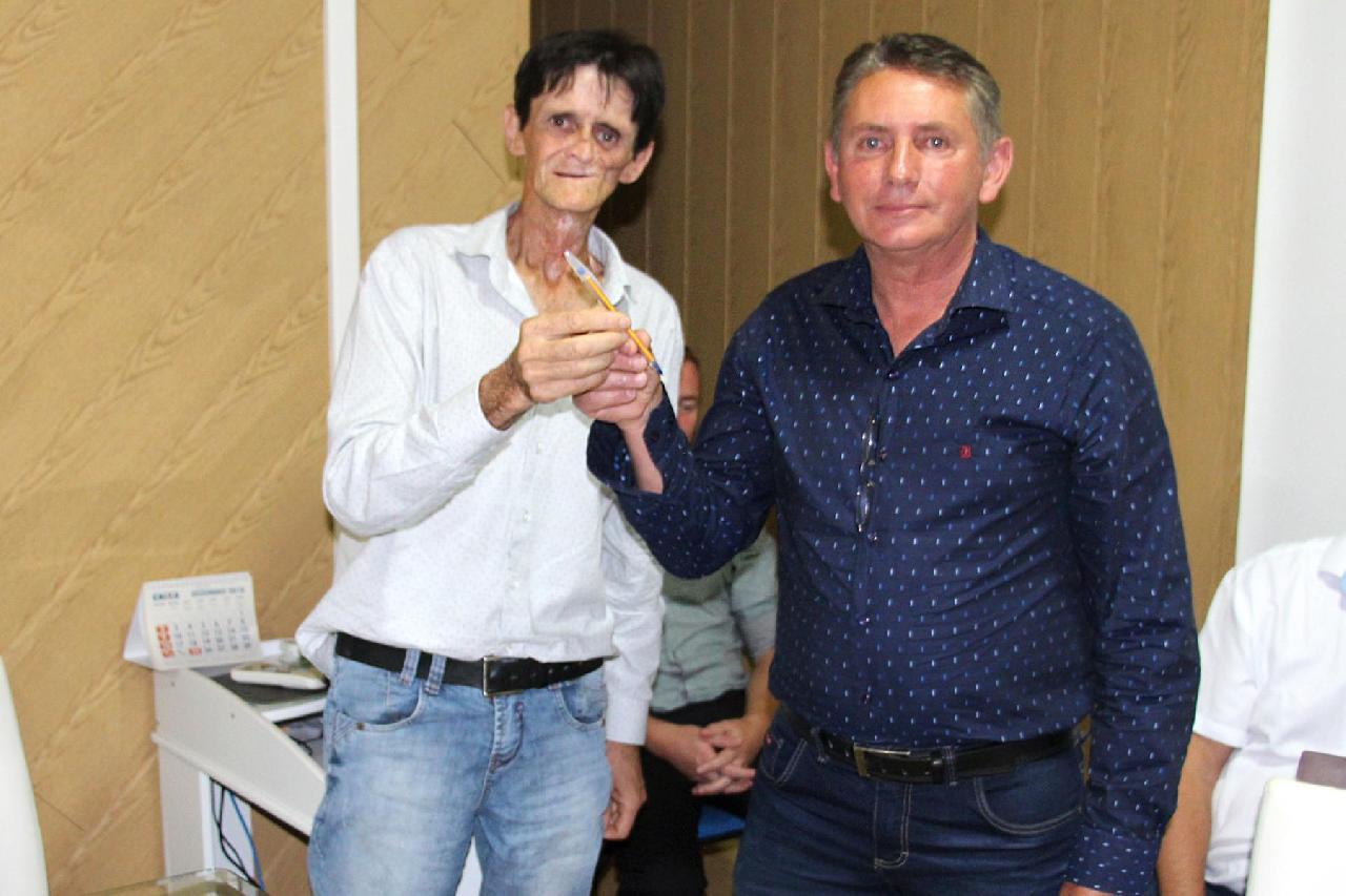 Eduardo Pires Ferreira assume Prefeitura durante férias de Livino Tureck