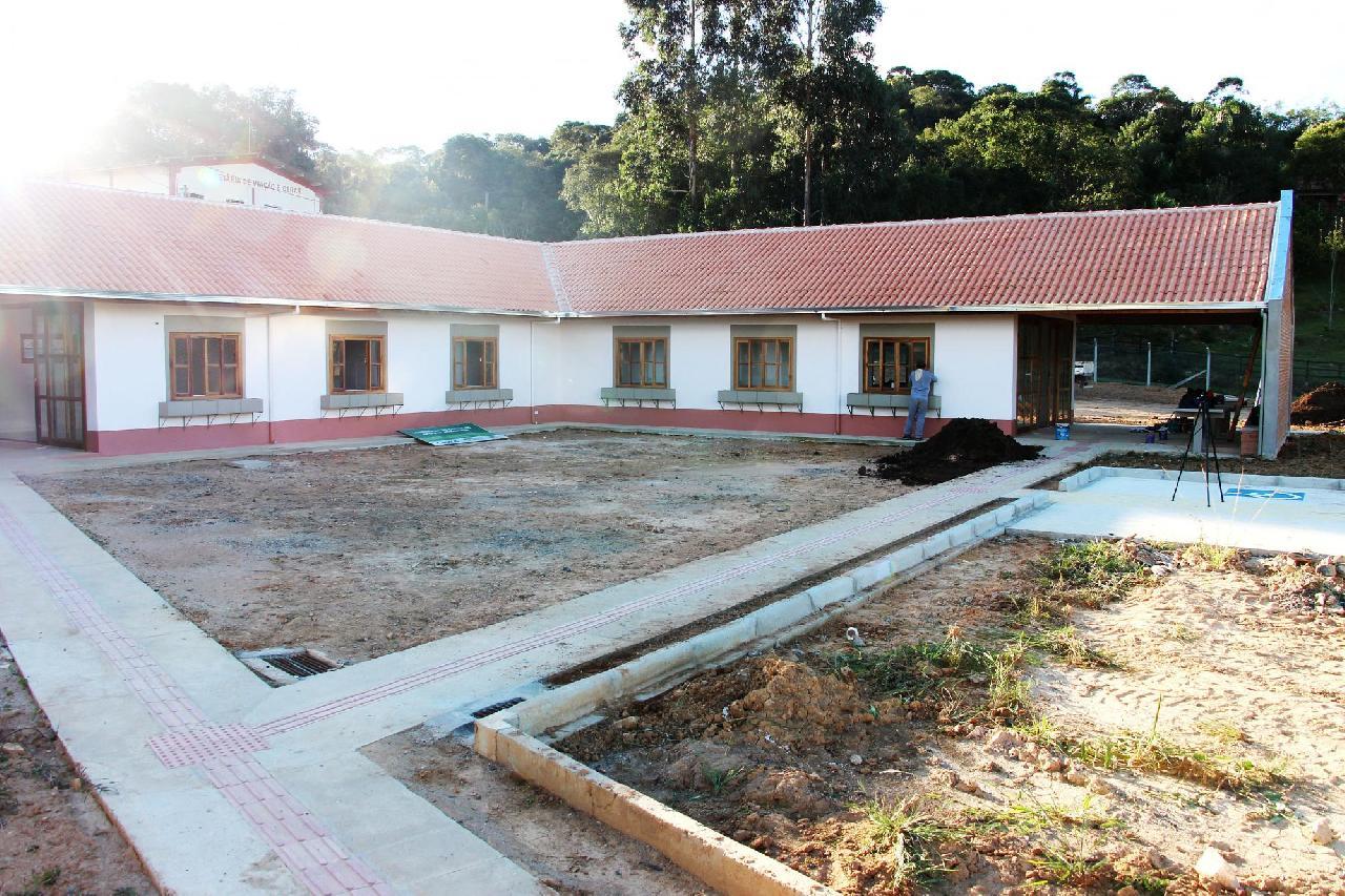 Obras do Centro de Apoio ao Produtor estão em fase final