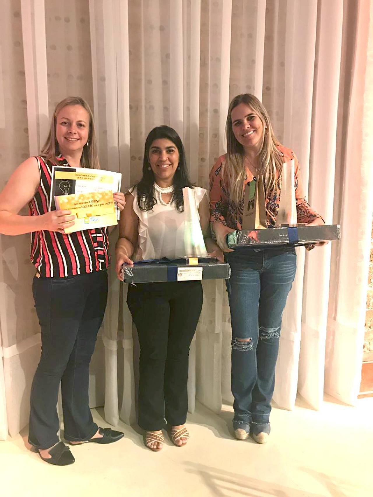 Professoras da Escola Alminda são premiadas em concurso estadual